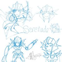 TFP OC Sketches by MNS-Prime-21