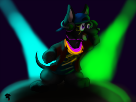 Jax At The Rave by Big-Wolf