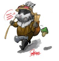 Teemo LOL by RaneBlu