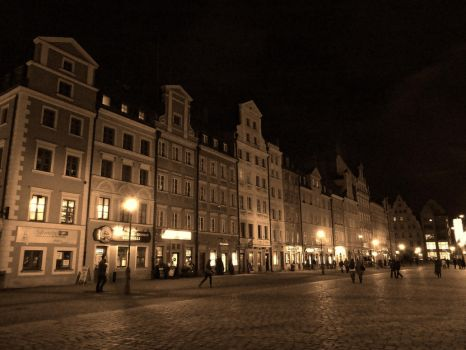 Square in Wroclove by MrPeKa