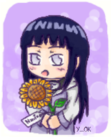 HinataSunflower by relievez-z