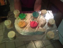 Palette cake by Magnexx