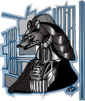 Jar Jar Vader AI color by Prototype66