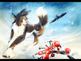 .:Wintery rush:. by Treachirani
