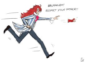 Fujimoto: Respect Your Father by Velothii