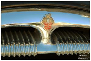 Packard Henney Hearse Hood Badge by TheMan268