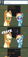 Ask Appledash 10 by RatofDrawn