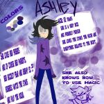Ashley Reference sheet by DrawerMich