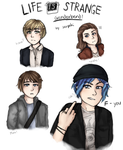 Life Is Strange GENDERBEND by serpchi