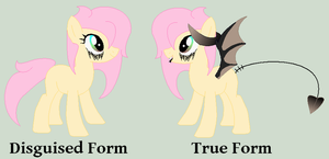 Custom Succubus Pony by iPandadopts
