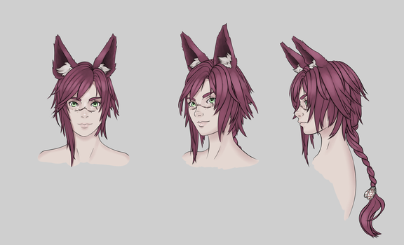 Luka head study by Valgryn