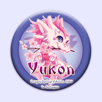 Yukon Buttonmotiv - April 2014 by KishiShiotani