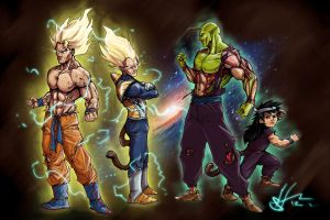 dbz unleashed by scottssketches