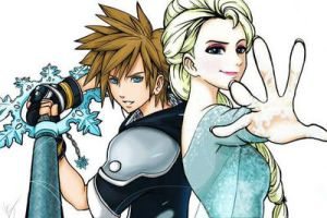 A Queen And Her Knight by kingdomheartsventus7