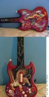 extreme Guitar Hero guitar by Smithy9