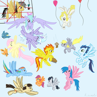 Spread those Wings, Pegasi! by catz537
