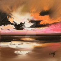 Pink Horizon by NaismithArt