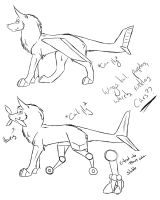 Species concept idea thing????? by EgyptianShadowWolf