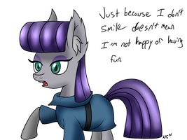 Maud Pie by WolfyOmega