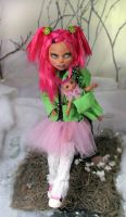 ANgry Girl (custom Monster high) by NickiiRose