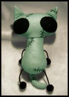 Zombie Cat ver.2 by plushrooms