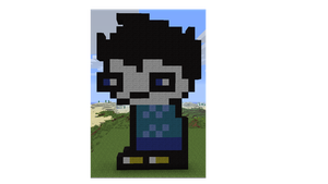 John:minecraft by little-devil-soul