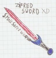 Zifred weapon xD by Harry026Husky
