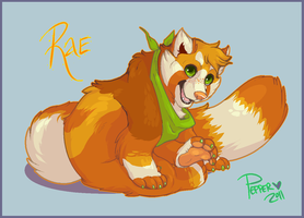 Art trade with Rae by MrsDrPepper