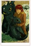 How to train your dragon by LilianFork