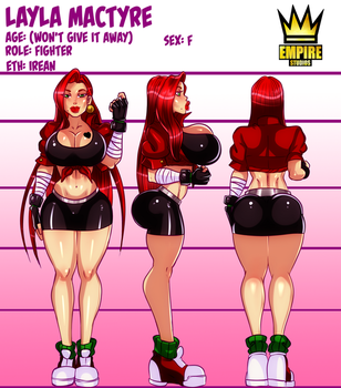 [RISE AGAINST!] official Layla sheet by RalDu