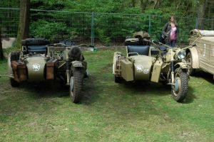 BMW sidecars German WW2 by BlokkStox