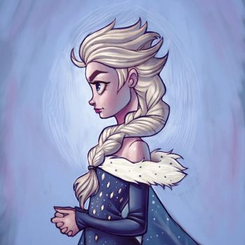Elsa - Olaf's Frozen Adventure by chrissie-zullo