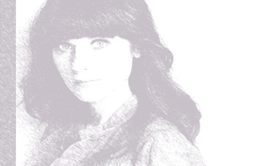 zooey Deschanel by WALLGOTH