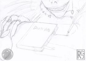 Death Note Sketch by Imerei
