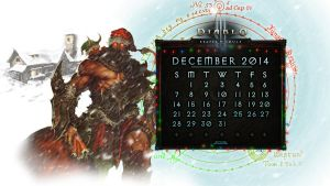 Calendar #6: December 2014 by Holyknight3000