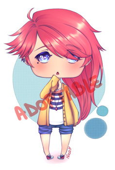 Adoptable Auction: Red Head [OPEN] by Moniica-chan