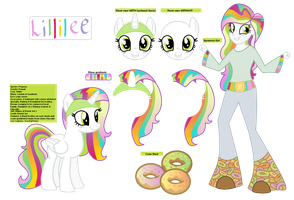 Lillilee Reference Sheet by MonkFishyAdopts