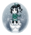 Winter Vanellope by daekazu