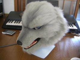 Real wolf mask by ajisai-rebellion