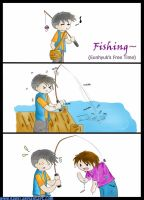 Fishing by haeki