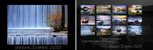 GreekScapes Calendar 2012 New by justeline