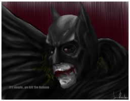 It's simple...We kill the Batman! by cupcakeanimefighter