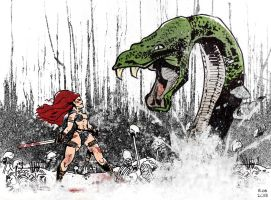 Red Sonja by R0b0C