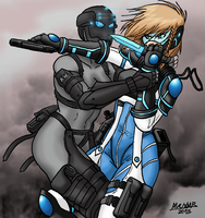 aFra and Shik Special Forces by Shabazik