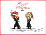 AkuRoku Happy Christmas by Cathey18