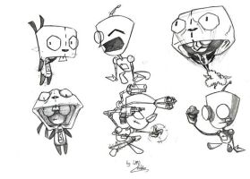 Gir Sketches by Pencil-Fluke
