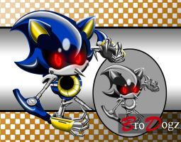 Commission: Metal Sonic - Next Level Asset by BroDogz