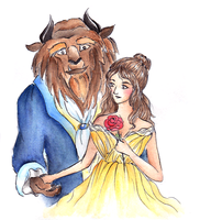 Beauty and the Beast by Chowkarou