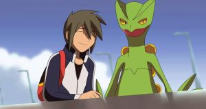 Sceptile and me!! by All0412