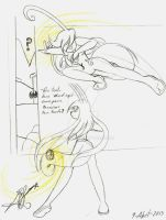 Aggressiveness to the touch 1 by Ray-Wind